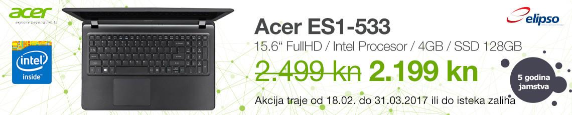 acer akcija es1-533 veljaca ozujak 2017