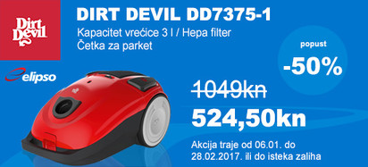 dirt devil dd7375-1 akcija