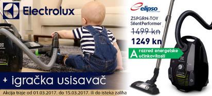 electrolux usisavanje za velike i male