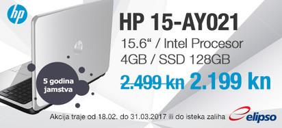 HP 15-AY021 akcija ožujak 2017