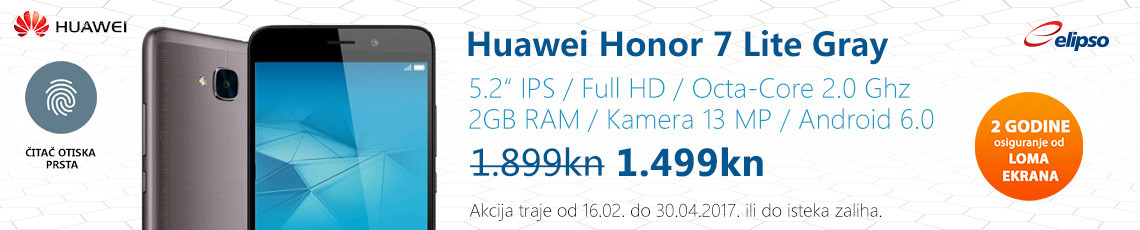 huawei honor 7 lite akcija veljača