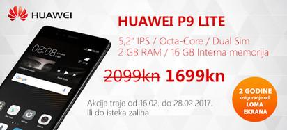 Huawei P9 lite akcija veljača