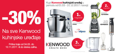 Kenwood -30 posto i nagradna igra