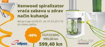 Kenwood spiralizator FGP203WG akcija