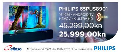 philips 65pus8901 akcija siječanj 2017