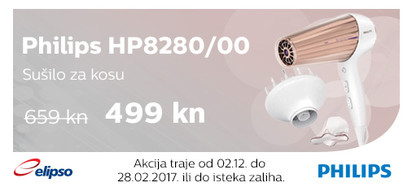 Philips HP8280 akcija Studeni