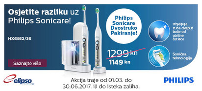 Philips Sonicare HX6932 akcija ožujak