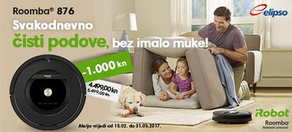 Roomba 876 AeroForce akcija