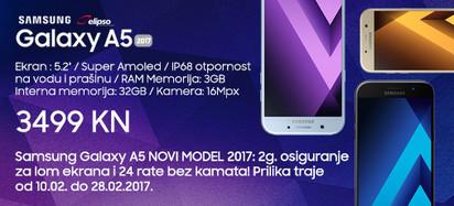 Samsung Galaxy A5 2017 prilika veljača