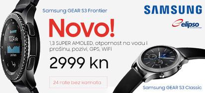 Samsung Galaxy Gear S3 NOVO