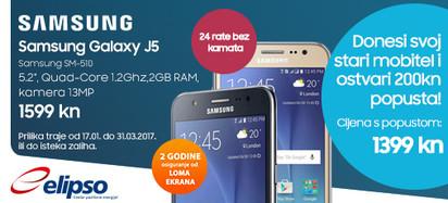 Samsung Galaxy J5 staro za novo prilika