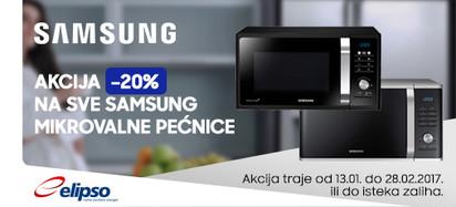 Samsung mikrovalne pećnice akcija 2017