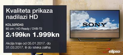 SONY KDL32RD435 Akcija siječanj 2017