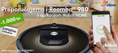 Super cijena Roomba 980