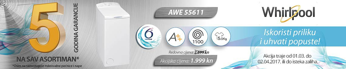 whirlpool awe55611